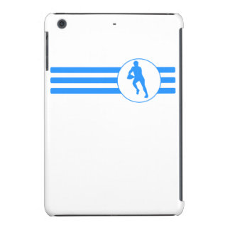 Rugby Player Stripes (Blue) iPad Mini Cases