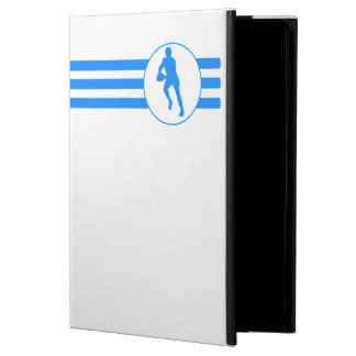 Rugby Player Stripes (Blue) iPad Air Cases