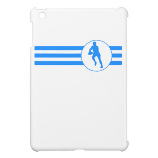 Rugby Player Stripes (Blue) iPad Mini Covers