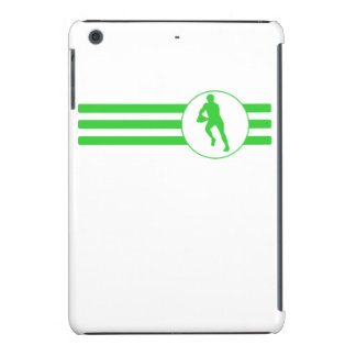 Rugby Player Stripes (Green) iPad Mini Retina Cover