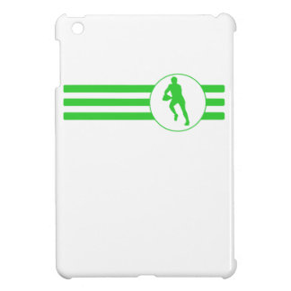 Rugby Player Stripes (Green) iPad Mini Case