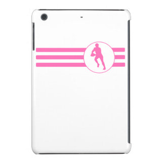 Rugby Player Stripes (Pink) iPad Mini Retina Cases