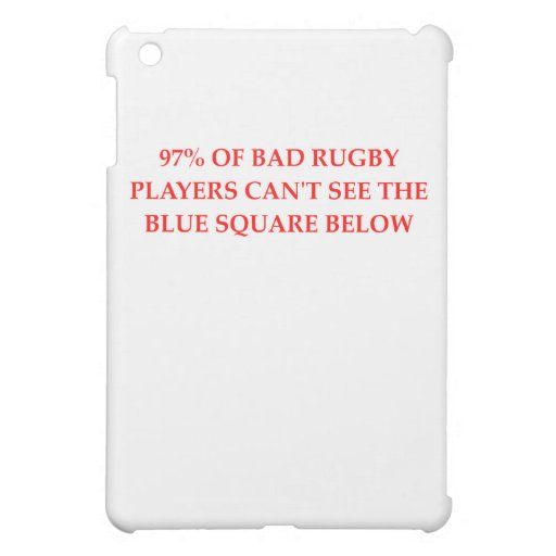 RUGBY.png iPad Mini Case