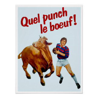 Rugby Punch - Archival Print