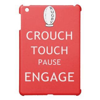 Rugby scrum instructions (old) iPad mini covers