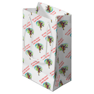 rugby small gift bag