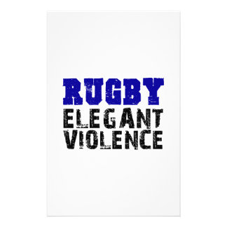 Rugby Stationery