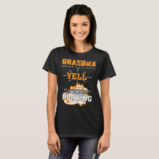Rugby T-Shirt Grandma Doesn't Usually Yell Grandma