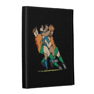 Rugby Tackle 2 iPad Case