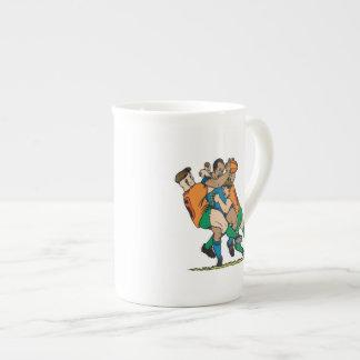 Rugby Tackle 2 Bone China Mug