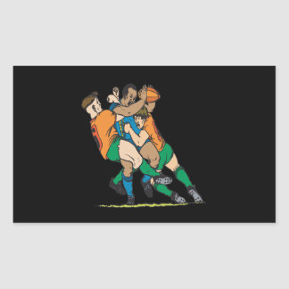 Rugby Tackle 2 Sticker