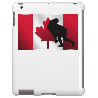 Rugby Tackle Canadian Flag