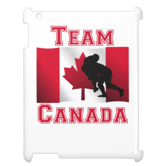Rugby Tackle Canadian Flag Team Canada iPad Covers