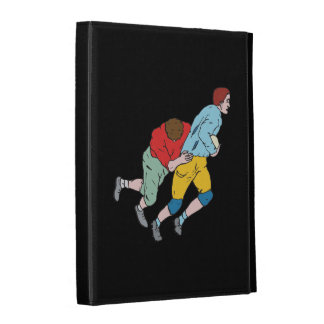 Rugby Tackle iPad Folio Cases