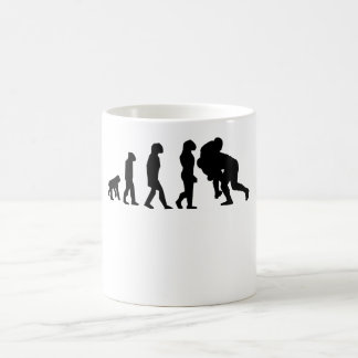 Rugby Tackle Evolution Coffee Mug