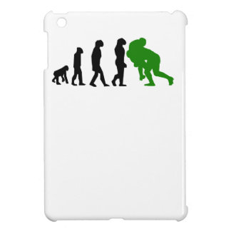 Rugby Tackle Evolution Green iPad Mini Cover