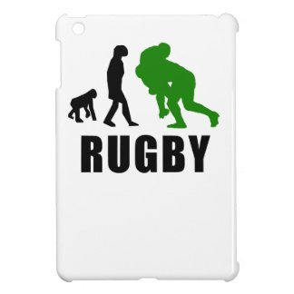 Rugby Tackle Evolution (Green) iPad Mini Case