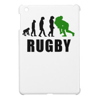 Rugby Tackle Evolution (Green) Case For The iPad Mini