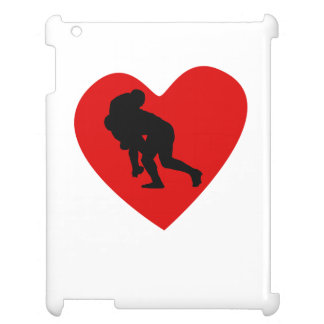 Rugby Tackle Heart Case For The iPad 2 3 4