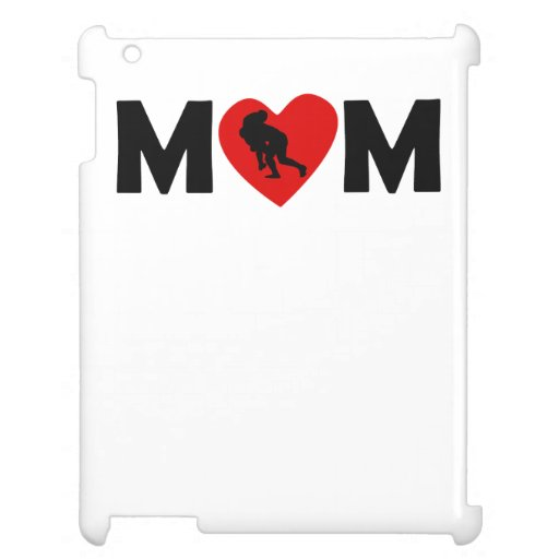 Rugby Tackle Heart Mom Case For The iPad