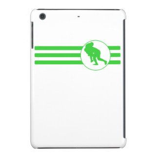 Rugby Tackle Stripes (Green) iPad Mini Cover