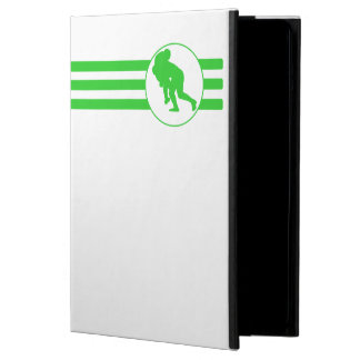 Rugby Tackle Stripes (Green) iPad Air Covers