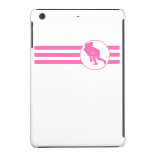 Rugby Tackle Stripes (Pink) iPad Mini Retina Case