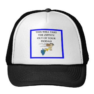 rugby trucker hat