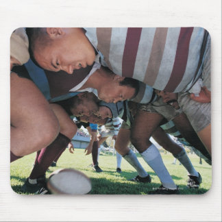 Rugby Union Players in a Scrum Mouse Pad