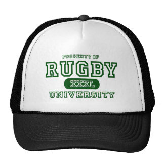 Rugby University Trucker Hat