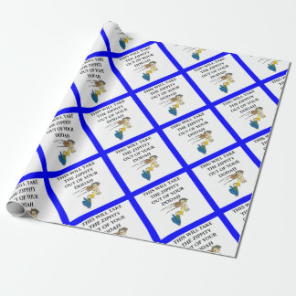 rugby wrapping paper
