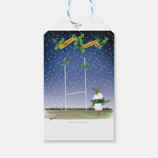 rugby xmas gift tags