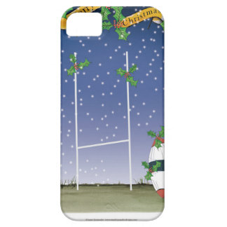 rugby xmas iPhone 5 covers
