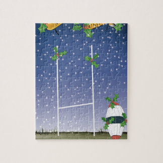 rugby xmas jigsaw puzzle
