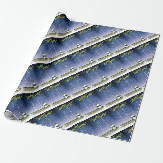 rugby xmas wrapping paper