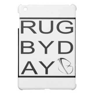rugbyday iPad mini cover