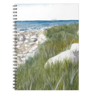 Rügen Beach Notebook