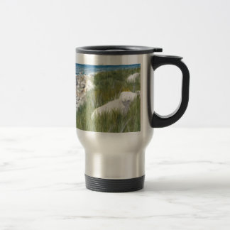 Rügen Beach Travel Mug