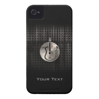 Rugged Acoustic Guitar iPhone 4 Case