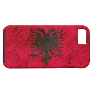Rugged Albanian Flag iPhone 5 Covers