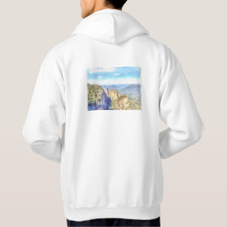 Rugged and beautiful mountains hoodie
