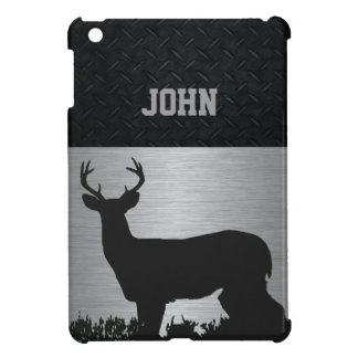Rugged Antlered Deer Tablet Name Case Case For The iPad Mini