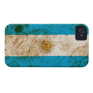 Rugged Argentine Flag iPhone 4 Covers
