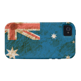 Rugged Australian Flag iPhone 4 Cover