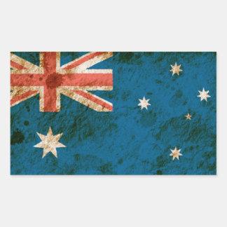 Rugged Australian Flag Sticker