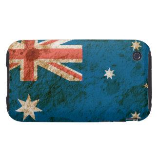 Rugged Australian Flag Tough iPhone 3 Covers