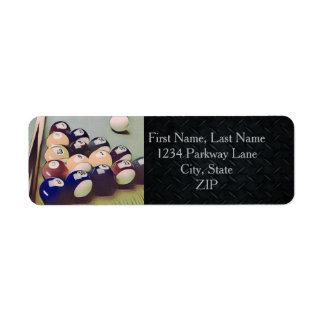 Rugged Billiards Return Address Labels
