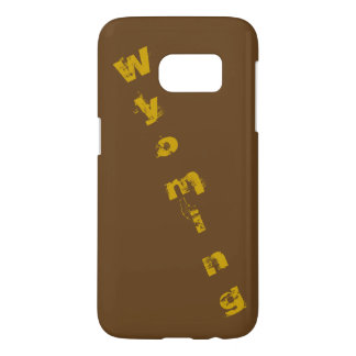 Rugged cell phone case Wyoming