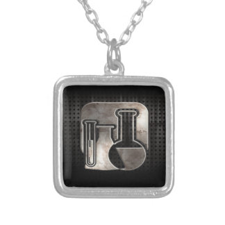 Rugged Chemistry Silver Plated Necklace