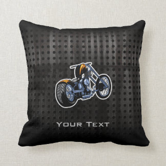 Rugged Chopper Throw Pillow